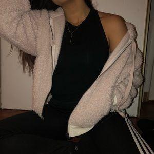American Eagle furry jacket